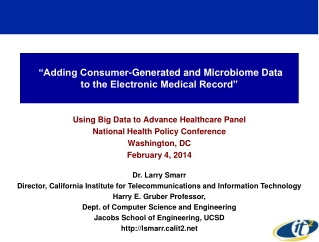 The Electronic Medical Record  EMR
