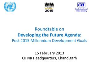 Roundtable on  Developing the Future Agenda: Post 2015 Millennium Development Goals