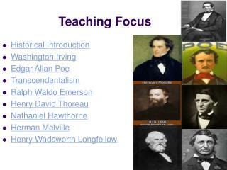 Teaching Focus