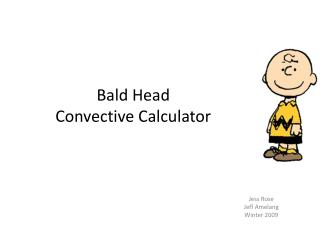 Bald Head  Convective Calculator