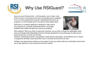 Why Use RSIGuard?