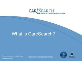 What is CareSearch?