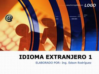 IDIOMA EXTRANJERO 1