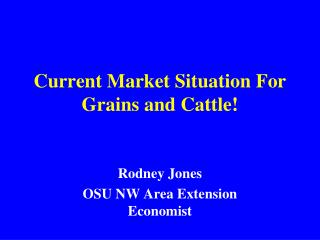 Current Market Situation For Grains and Cattle!