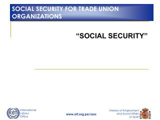 �SOCIAL SECURITY�