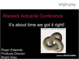 Warwick Actuarial Conference