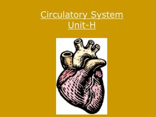 Circulatory System Unit-H