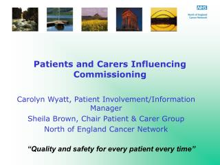 Patients and Carers Influencing Commissioning