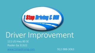 Driver Improvement