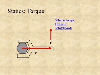 Statics: Torque
