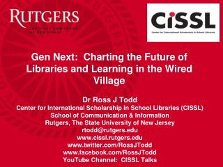 Gen Next:  Charting the Future of Libraries and Learning in the Wired Village