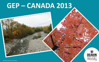 GEP – Canada 2013