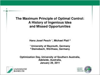 The Maximum Principle of Optimal Control: A History of Ingenious Idea  and Missed Opportunities