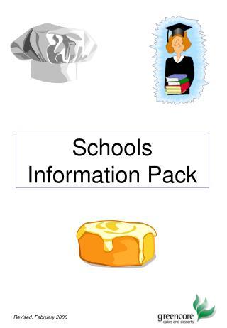 Schools  Information Pack