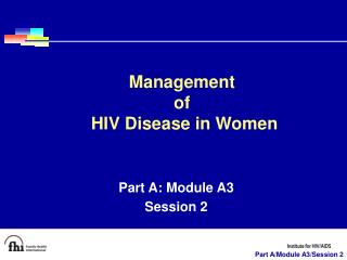 Part A: Module A3 Session 2
