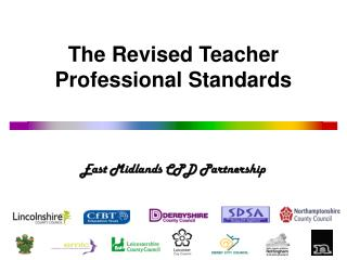 The Revised Teacher Professional Standards