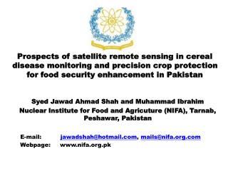 Syed Jawad Ahmad Shah and Muhammad Ibrahim