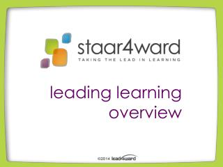 leading learning overview