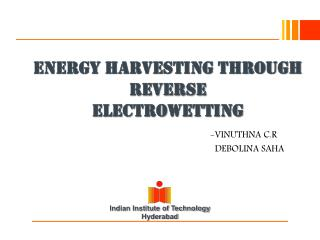 ENERGY HARVESTING THROUGH REVERSE ELECTROWETTING