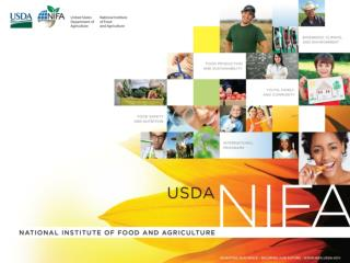 NIFA Funded Research on Chemicals, Mycotoxins, and Nanoparticles in Foods