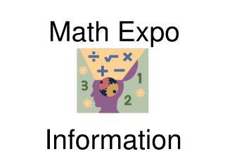 Math Expo