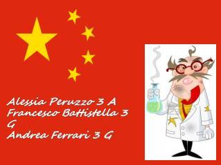 Alessia Peruzzo 3 A Francesco Battistella 3 G Andrea Ferrari 3 G