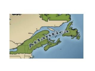 Atlantica: the intersection of three major North American regions