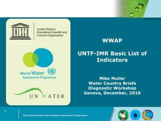 WWAP's Mandate