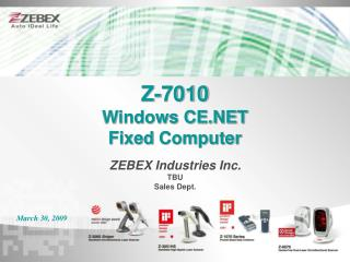 Z-7010 Windows CE.NET Fixed  Computer