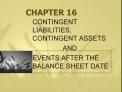 CONTINGENT LIABILITIES, CONTINGENT ASSETS                   AND  EVENTS AFTER THE BALANCE SHEET DATE