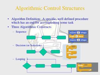 Algorithmic Control Structures