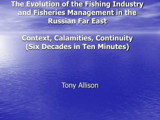 Tony Allison