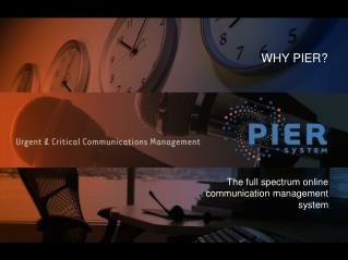 The full spectrum online communication management system