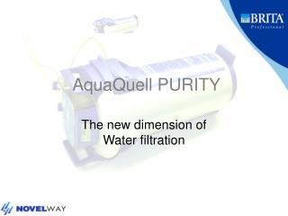 AquaQuell PURITY