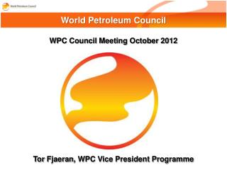 WPC Council Meeting October 2012