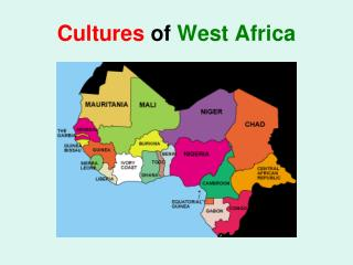 Cultures  of  West Africa
