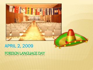 FOREIGN LANGUAGE DAY