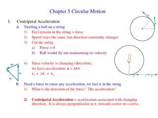 Chapter 5 Circular Motion
