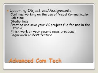 Advanced Com Tech