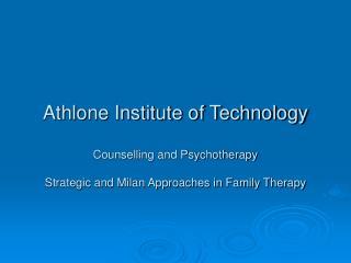 Mental Research Institute [MRI]
