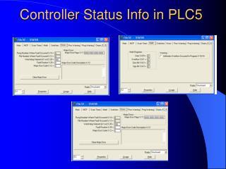 Controller Status Info in PLC5