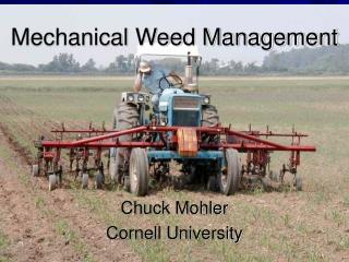 Mechanical Weed Management