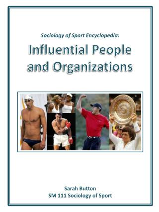 Sociology of Sport Encyclopedia: