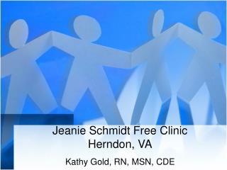 Jeanie Schmidt Free Clinic Herndon, VA