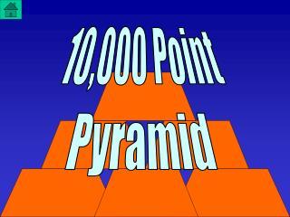 10,000 Point Pyramid