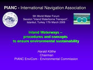 PIANC -  International Navigation Association