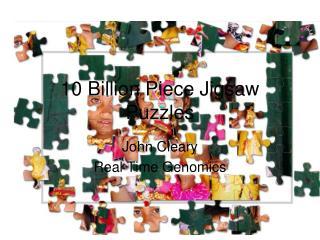 10 Billion Piece Jigsaw Puzzles