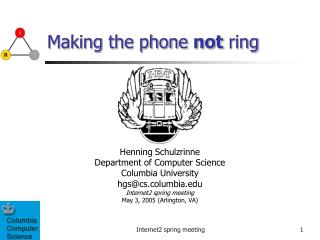 Making the phone  not  ring