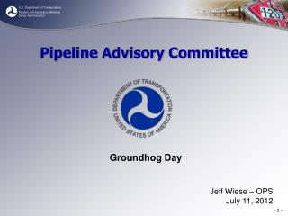Pipeline Advisory Committee
