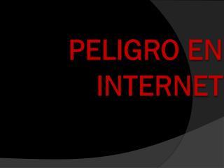 PELIGRO EN INTERNET